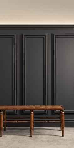Heritage New Classics Wall Moulding Panels, 3d Wall Panels, Interior Design Inspiration, Home Interior Design, Orac Decor, Accent Wall Designs, Wall Treatments, Classic Interior, Furniture Design