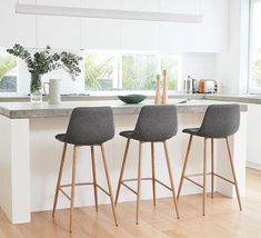 The on-trend Samba Bar Stool is the perfect dining companion. Shop now, only at Fantastic Furniture! Kitchen Stools With Back, Kitchen Breakfast Bar Stools, Stools For Kitchen Island, Counter Stools With Backs, Counter Height Stools, Bar Furniture, Furniture Design, Plywood Furniture, Chair Design