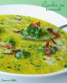 Cheeseburger Chowder, Broccoli, Food And Drink, Soups, Recipes, Romanian Recipes, Food Cakes, Recipies, Soup