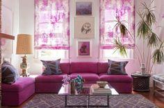 Design D'Intérieur Rose Et Violet