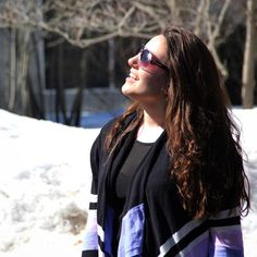 """""""What snow? All I see is sunshine. I just #love Kzoo in the spring."""" - Angelica, Human Resources"""