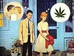 kiss, love, marijuana, one love, rasta love, weed
