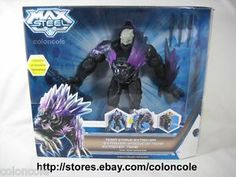 "max steel action figure | Max Steel Reboot 2013 Tiger Strike Extroyer 11"" Action Figure Missile ..."