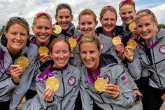 Olympic Gold! Congrats, USA Women's Eight! #TeamUSA #London2012