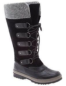 5d698169b50 Sock top winter boot Fur Lined Boots