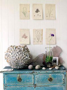decorandoyrenovando mueble marinero