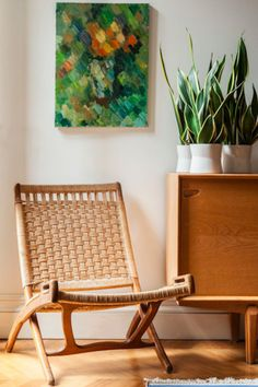 Woven Chairs  - The Neutral Textures We Love To Keep On Display - Photos