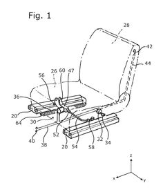 WO2012089373A1 LONGITUDINAL ADJUSTMENT DEVICE FOR A MOTOR VEHICLE SEAT, COMPRISING TWO PAIRS OF RAILS