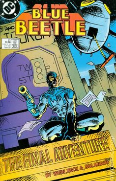 Blue Beetle (1986 DC 1st Series) 24