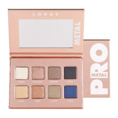 LORAC Rose Gold PRO Metal Palette for Holiday 2016