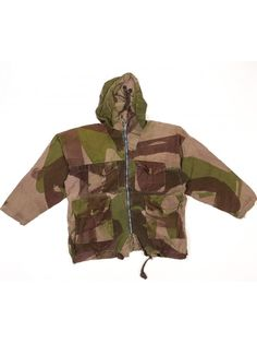Windproof parka modified in Indochina