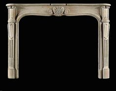 Burghley limestone fire surround