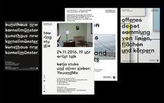 Corporate Design – Museum Kunsthaus NRW on Behance