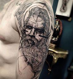 Tattoo do Bruno. Muito obrigado cara @inkonik_tattoo_studio