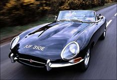 #1 Most Beautiful Cars  Jaguar E-Type - 1961