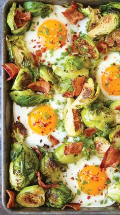 Take your brunches to new heights with this ingenious one-pan recipe. Get the recipe here.