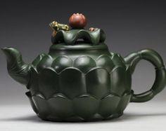 LianHua BaoZhuo teapot; Chinese GongFu TeaPot, YiXing Pottery Handmade zisha teapot,Guaranteed 100% genuine original mineral fired