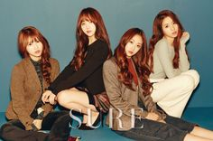 Lovelyz in Sure Korea Magazine