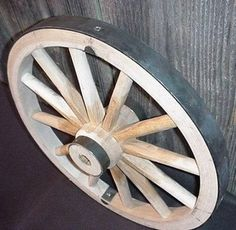 Wooden Wagon Wheels, Wooden Wheel, Wagon Wheel Decor, Wheels For Sale, Steel Rims, Covered Wagon, Building A Chicken Coop, Wooden Stars, Wood Wall Art