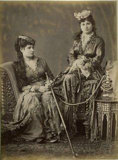 carolathhabsburg:  Turkish women. 1880s.