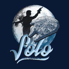 Star Wars Han Solo Silhouette Kid's T-Shirt
