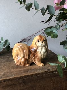 Excited to share this item from my shop: Vintage King Charles Cavelier porcelain dog figurine excellent condition Lady And The Tramp, King Charles, Chinoiserie, Kitsch, 1950s, Conditioner, Porcelain, Etsy Shop