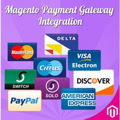 Magento  Payment Gateway Integration / Magento Payment Methods Intagration