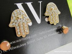 Cece Earrings from the August Wantable Subscription Box
