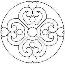 desenhos de mandalas de flores - Pesquisa Google