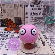 Vela decorada Cupcake - FNAF - Paty's Biscuit