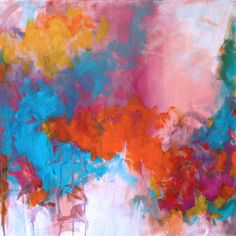"gaines Eskinazi Stockdale Cooper Check out the new Christine Soccio piece, ""Sorbet"" I thought you might like it! Art For Sale Online, Original Art For Sale, Online Art Gallery, Painting Inspiration, In This World, Buy Art, Contemporary Art, Art Photography, Original Paintings"