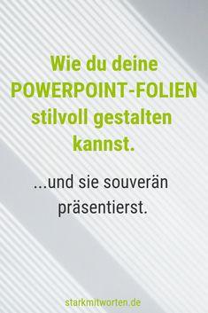 Erfolgreich Präsentieren mit PowerPoint. So stehlen dir Beamer & Co nicht die Show! DER online Workshop, damit du nie wieder langweilige Powerpoint-Präsentationen hältst, sondern den Nerv deiner Zuhörer triffst und überzeugend präsentierst!