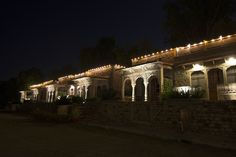 Starlit Deobagh Palace, Gwalior.