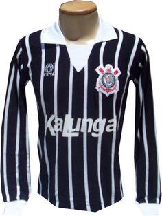 Sport Club Corinthians Paulista - Camisa Corinthians 1992 - Vai Corinthians - Timão