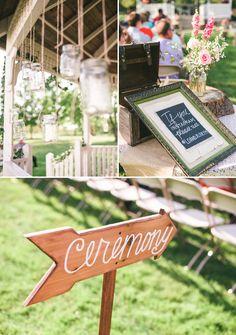 pinterest inspired wedding ceremony