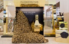 Retail | NICOLAO FLOWER BOMB SELFRIDGES