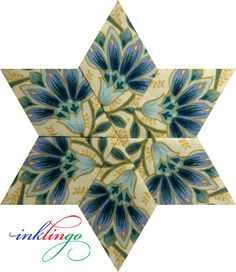 Inklingo Kaleidoscope Stars--a beautiful choice of fussy cuts!