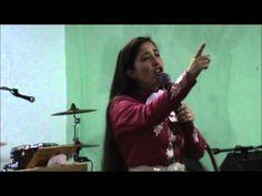 """Gladys Muñoz en Templo Ciudad de Refugio Tema: """"No nos cansemos de hacer..."""