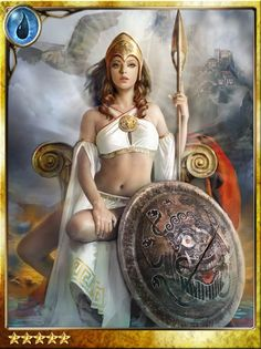"""Athena - """"They said that Athena was the daughter of Zeus not from intercourse, but when the god had in mind the making of a world through a word (logos) his first thought was Athena""""."""