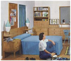 1950s Bedroom.