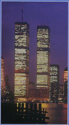 The World Trade Center-gone but not forgotten.