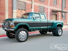 Art 73-79 Ford Dually - Picture automobiles