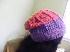 "Ravelry: Basic Hat Pattern Version 35 ""Slightly Slouchy Hat"" pattern by Sherry Etheridge"