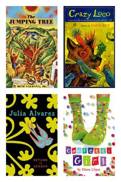Middle Grade and YA books with Latina/o characters and authors. #latina #reading