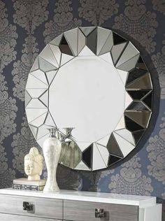 Espejo Moderno Redondo Jasone