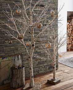 Beautiful flexible lighted Birch Tree with reclaimed wood base with Cord. Mini lights imbedded on tip of branches. Dimensions: x Christmas Tree Decorations, Christmas Lights, Christmas Crafts, Birch Christmas Tree, Tree Branch Decor, Christmas Tree Inspiration, Christmas Table Settings, Diy Weihnachten, Scandinavian Christmas