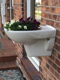 Auch eine Verwendung von Toilettenschüsseln