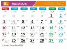75 Ide Calendar 2021 All On One Di 2021 Kalender Bulan Tanggal