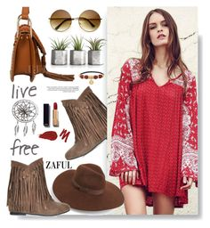 """""""Zaful.com: live free!"""" by hamaly ❤ liked on Polyvore featuring Henri Bendel, Lack of Color, Urban Decay, Chanel, women's clothing, women, female, woman, misses and juniors"""