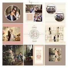 Arvi & Susan Prewedding Photobook Preview, edit & design by Wenny Lee, photo by HOP